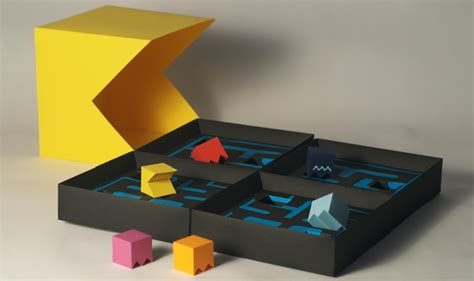Man Home Decor pac man board game comes packaged in paper ernest