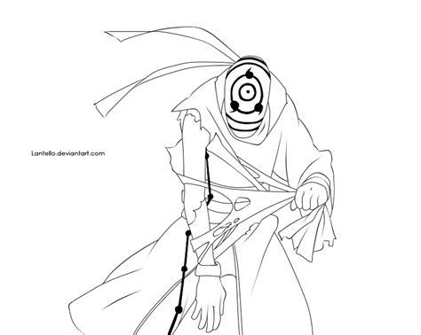 Topi Anime Hitam 597 lineart tobi by lantello on deviantart