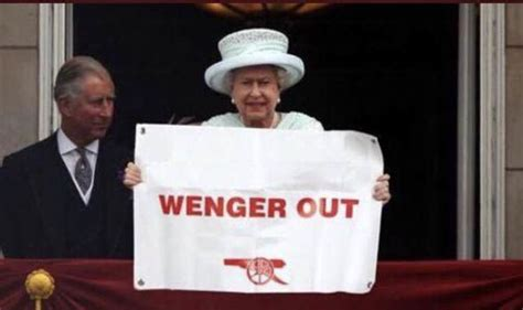 arsenal queen arsene wenger has the queen confirmed she wants arsenal