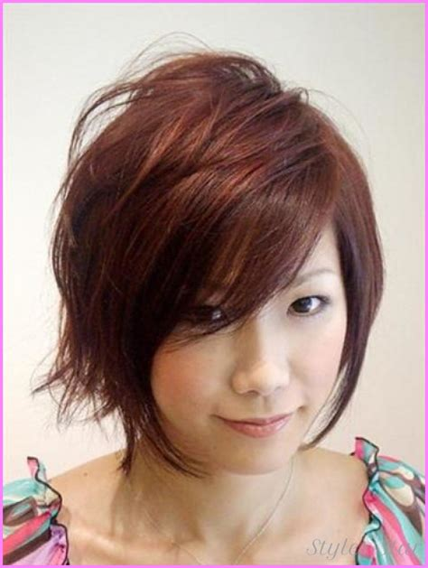 round face asain hairstyle korean haircut for girls with round face stylesstar com