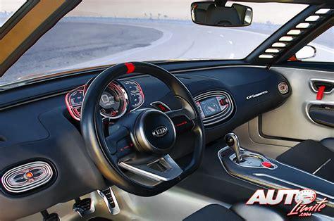 Kia Gt4 Stinger Interior Kia Gt4 Stinger Concept Interior 01