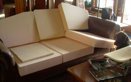 Change Sofa Upholstery by How To Choose Cushion Foam For Upholstery