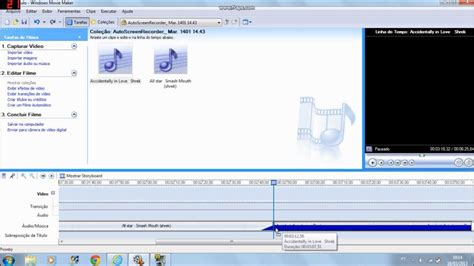 tutorial cortar audio windows movie maker tutorial como editar m 250 sicas no windows movie maker 2 6