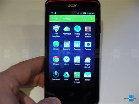Hp Acer Z4 acer liquid z4 spesifikasi