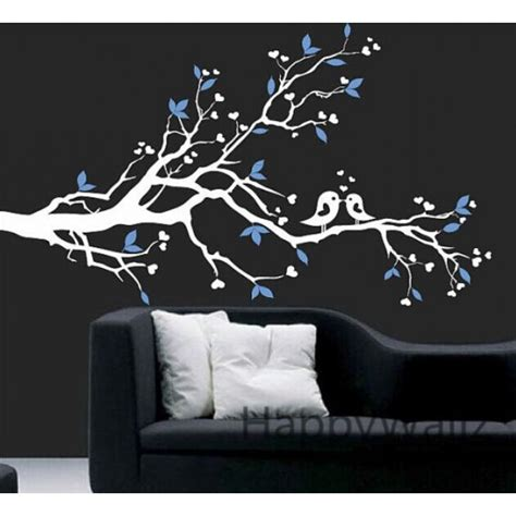 wall decals branch tree wall sticker with birds