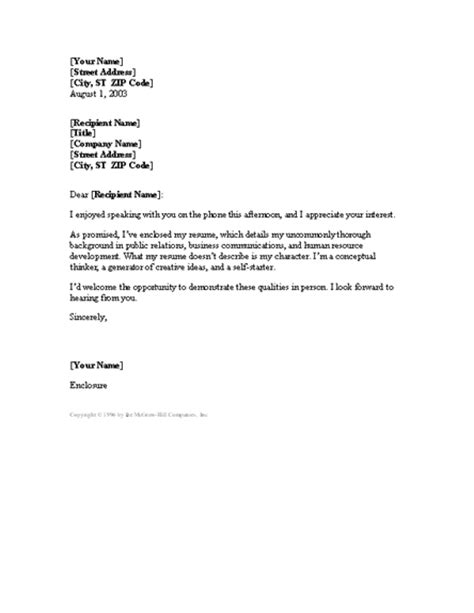 cover letter contact cover letter following up phone conversation cover letters