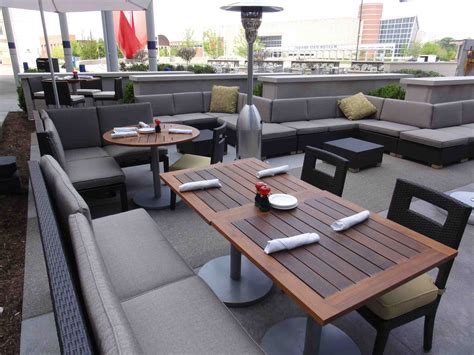 image gallery outdoor restaurant seating