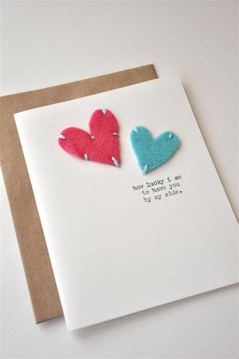 diy card template how to make handmade greeting cards for anniversary