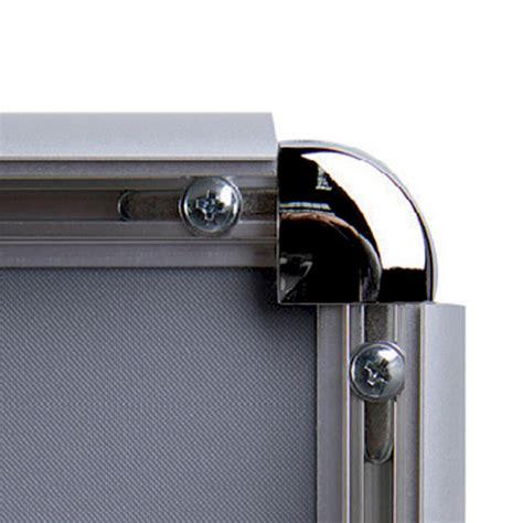 cornice plexiglass 70x100 struttura autoportante a doppio montante con cornici