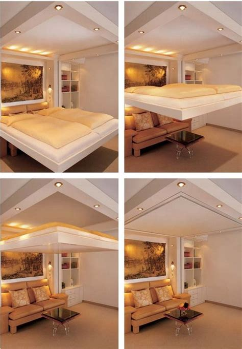 Hideaway Bed Living Room Clever And Space Saving Beds Which You Can Slide Away And Hide