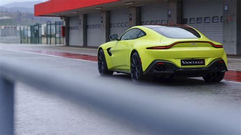 lime green aston martin 2019 aston martin vantage drive more than a mini