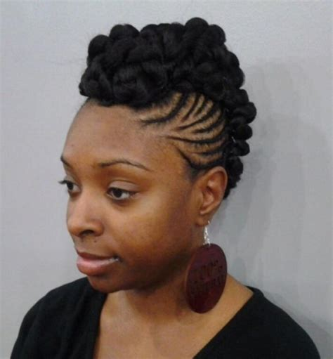 Mohawk Hairstyles For Black Hair by Mohawk Hairstyles For Black Pictures