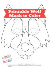wolf mask template free printable wolf mask template f 252 r kinder stoffe und