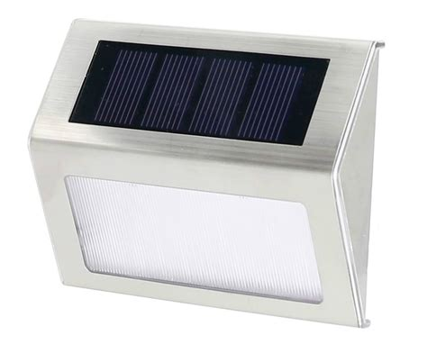 solar powered step lights solar powered deck step lights outdoor solar post lights