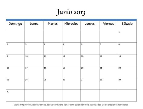 Calendario De Junio Calendario De Junio Imagui