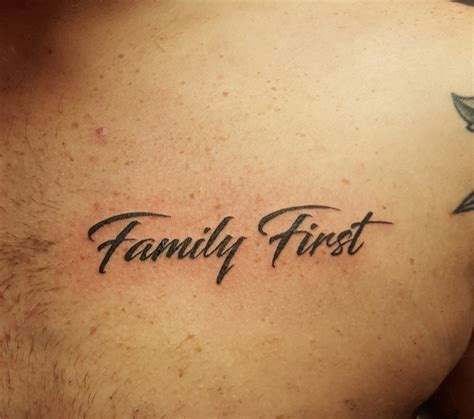 family first lettering tattoo on hands by dr woo best family first tattoo fonts pictures to pin on pinterest