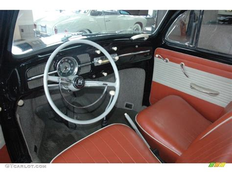 Vw Beetle Upholstery by 1961 Volkswagen Beetle Coupe Interior Color Photos