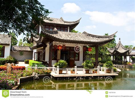 traditional chinese house design chinese house stock images image 14379104
