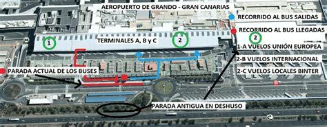 salidas aeropuerto las palmas transportes en el aeropuerto de gran canaria