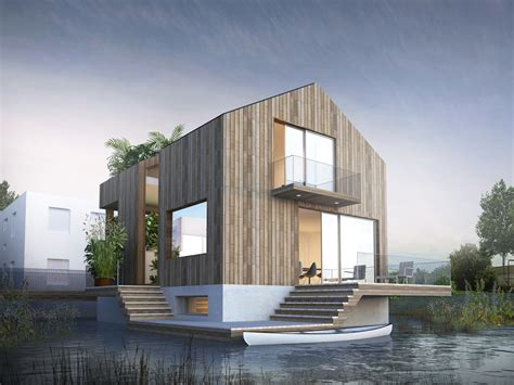 make house the way we build floating house