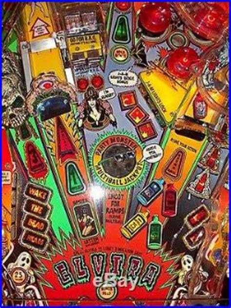 elvira and the monsters pinball machine elvira and the monsters pinball pinball machines