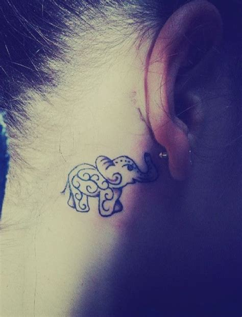 tattoo elephant black simple black elephant tattoo tattoomagz com tattoo