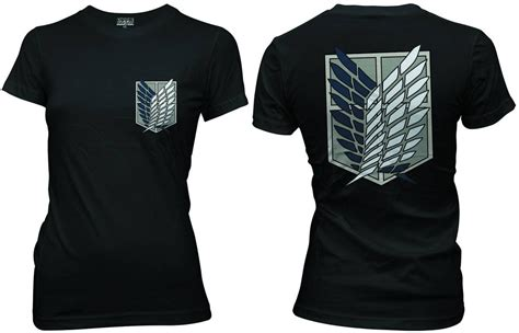 attack on titan t shirt scouting corps xl archonia