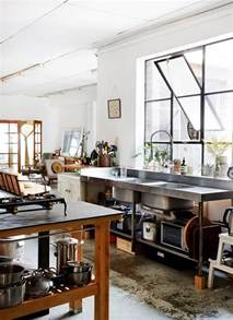 Industrial Kitchen Design Cool And Minimalist Industrial Kitchen Design