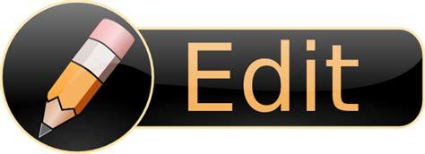 Edit Icon Clip Art at Clker.com - vector clip art online ...