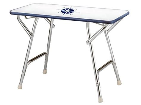 boat deck table marine folding rectangular deck table for boat anodized