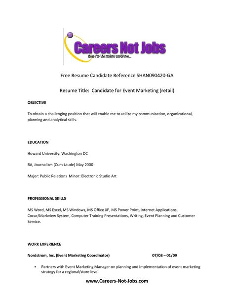 Resume Cv Title How To Do A Resume For Your Chef S Cv Resources Now Available Resume With