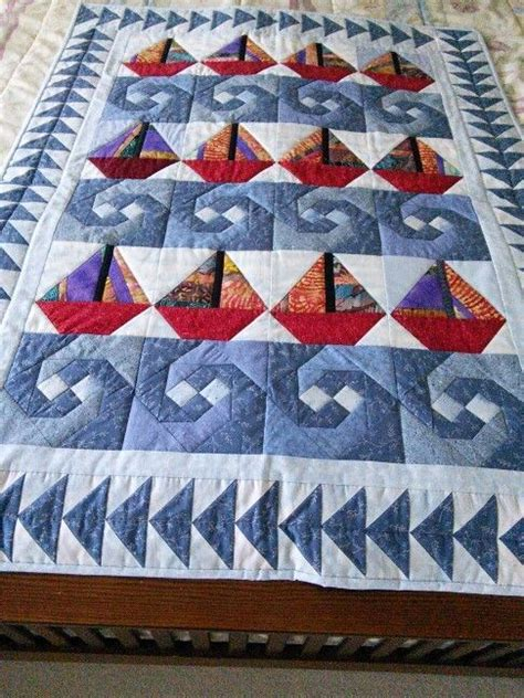 sailboat quilt ideas 25 best ideas about nautical quilt on pinterest baby