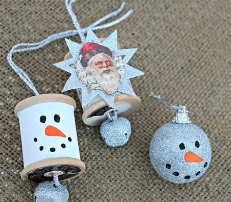 easy home made christmas decorations 17 best images about christmas ornaments 2 on pinterest