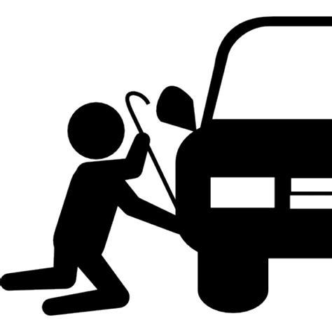 Was Ist Eps Beim Auto by R 228 Uber Silhouette Versuchen Auto Zu Stehlen Teil
