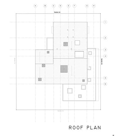 floor plan with roof plan gallery of 19 sunset place ipli architects 16