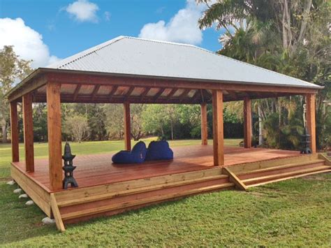gazebo australia 6x9 gazebo built by aarons outdoor living for a day