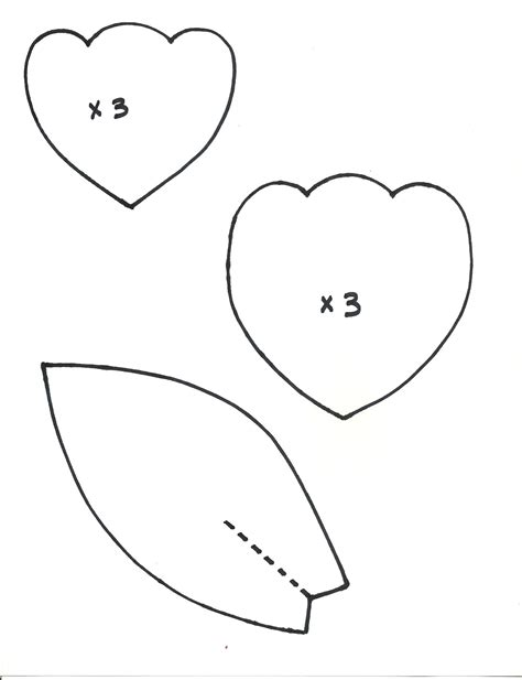 paper flower petal templates 8 best images of printable flower template leaf leaves