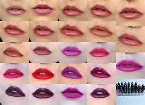 best color swatches of 2016 mac lipstick collection 2016 lip swatches youtube