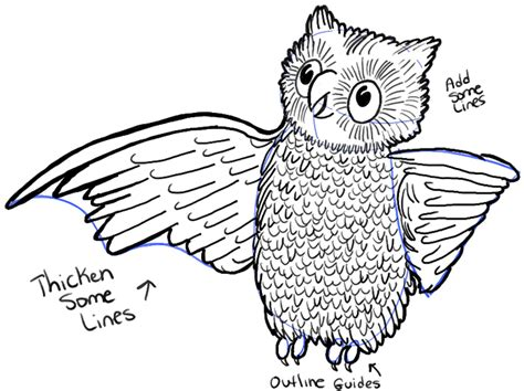 how to draw doodle owl how to draw owl with easy steps tutorial how to