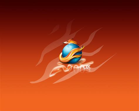 firefox themes orange download desktop wallpaper firefox wallpaper fox on the