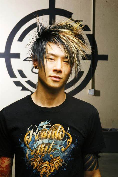 asian men hairstyles with wax asian style emo hairstyles