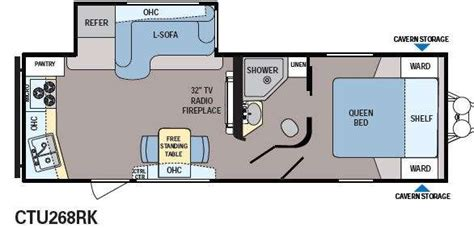 rear kitchen rv floor plans rear kitchen rv floor plans floor matttroy