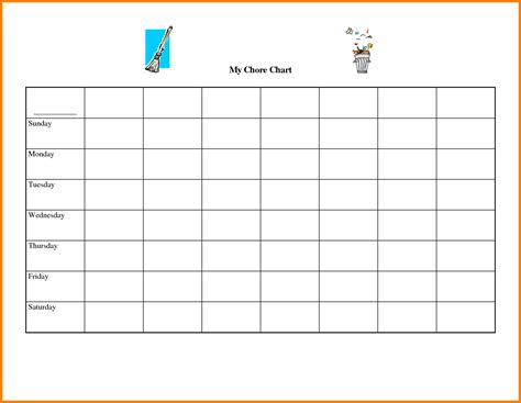 blank chart template selimtd bunch ideas of blank chart
