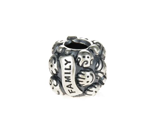 pandora silver family charm 791039 greed jewellery