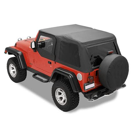 Jeep Yj Frameless Soft Top All Things Jeep Jeep Wrangler 1997 2006 Frameless Soft Tops