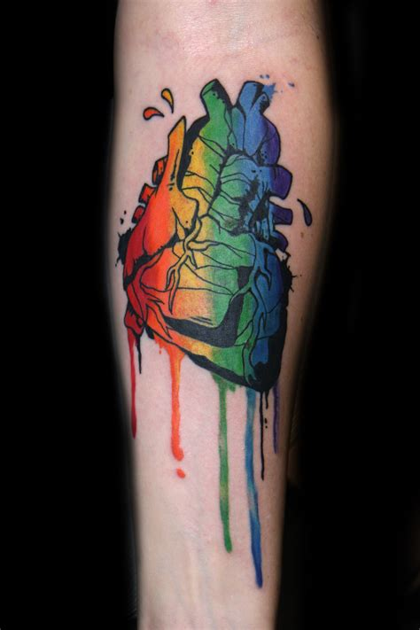 watercolor tattoo san francisco dioses tatuaje