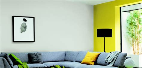 Lemon And Grey Living Room by Polished Pebble And Lemon Punch Color Schemes For The