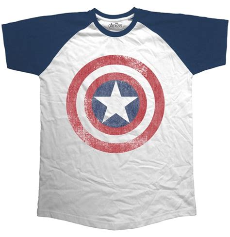 Raglan Superheroes 18 Ordinal Apparel marvel comics s raglan assemble distressed shield for only 163 15 76 at