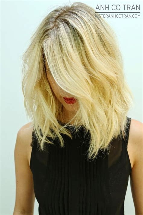 layered beachy medium length haircut 32 latest bob haircuts for the season pretty designs