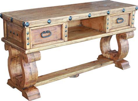 rustic recliner don carlos tv unit durango trail rustic furniture